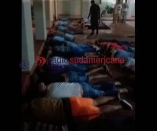 foto: Santo Tomé: el motín se inició por abuso sexual a uno de los internos