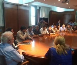 foto: Intendentes correntinos iniciaron diálogo con funcionarios nacionales