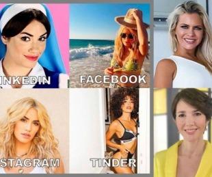 foto: Los famosos se sumaron al nuevo desafío viral sobre sus perfiles