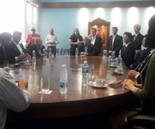 foto: Inversionistas chinos se reunieron con ministros correntinos