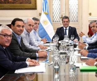 foto: Valdés se reunió con legisladores nacionales y Rodríguez Larreta