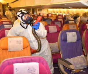 foto: Coronavirus: Proponen esterilizar aviones y aeropuertos del Mercosur