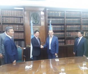 foto: La Provincia y grupo inversor chino amplían ronda de diálogo bilateral