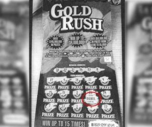 foto: Ganó 4.000.000 de dólares en la Lotería, pero lo estafaron y solo cobró 4000