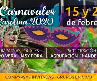 foto: Goya tendrá show de comparsas y una muestra de carnaval