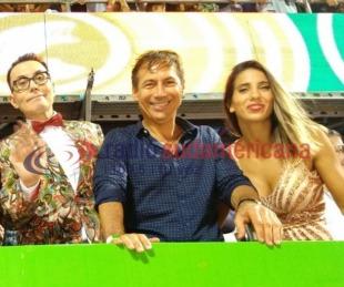 foto: Polémica entre Cinthia Fernández y Luis Naidenoff por una foto