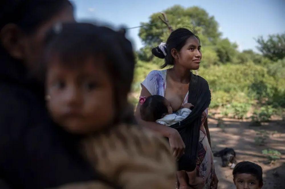 foto: Llorar de hambre: la cruda realidad wichi, urgente y profunda