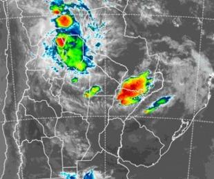 foto: Sigue vigente el alerta por tormentas severas para Corrientes