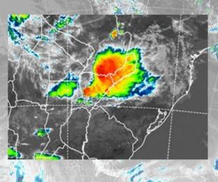foto: Se mantiene el alerta por tormentas en el norte correntino