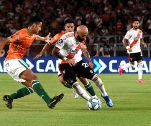 foto: Superliga: River derrotó a Banfield y se mantiene en lo más alto