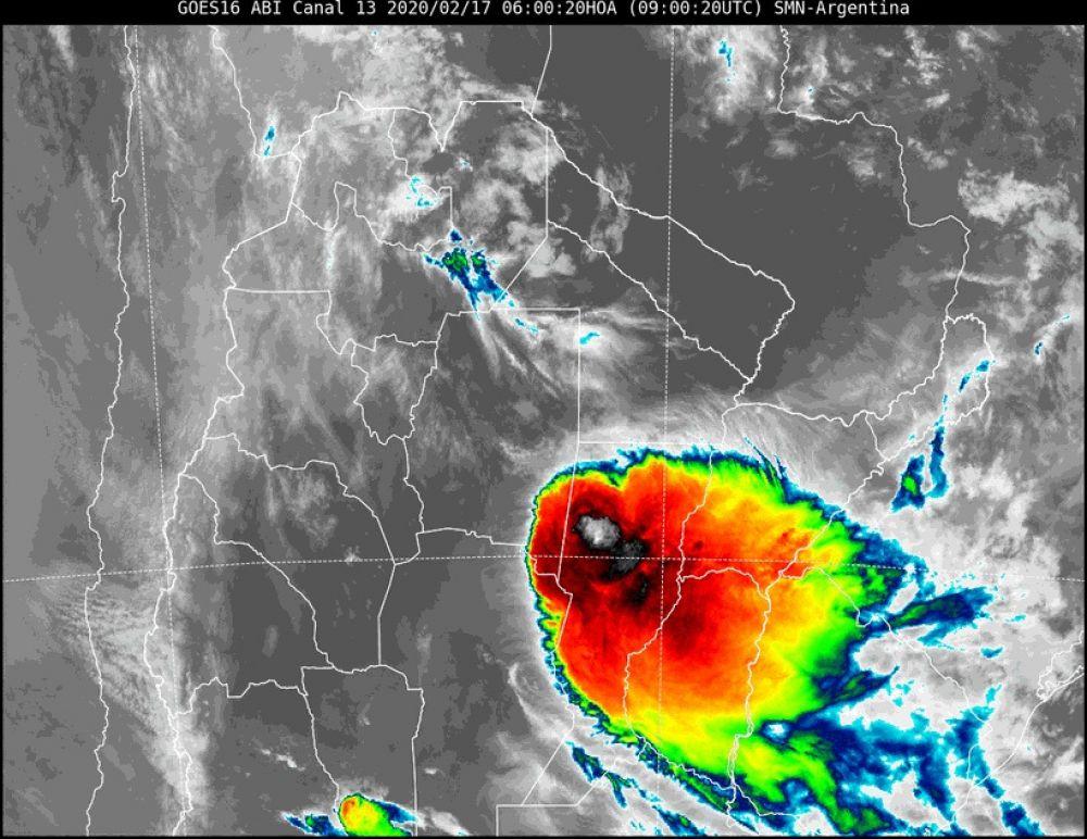 foto: Persiste el alerta por tormentas fuertes para todo Corrientes