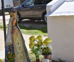 foto: Bº Itatí: Transformaron un basural en un espacio de oración