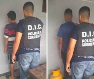 foto: Detuvieron a dos sujetos, uno de ellos con pedido de captura