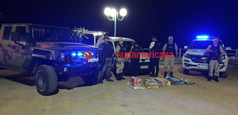 foto: Prefectura secuestró más de 33 kilos de droga: Hay dos detenidos
