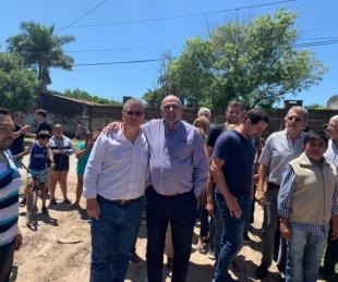 foto: Autoridades recorrieron asentamiento que será urbanizado por provincia