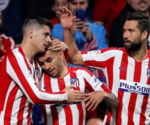 foto: El Atlético Madrid de Simeone ganó y se metió en