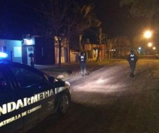foto: Robaron a Jefa de Gendarmería Nacional de Santa Lucía