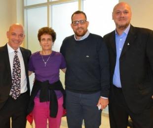 foto: La embajadora de Israel visita Corrientes para disfrutar del Carnaval