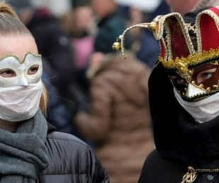 foto: Italia canceló el Carnaval de Venecia por temor al coronavirus