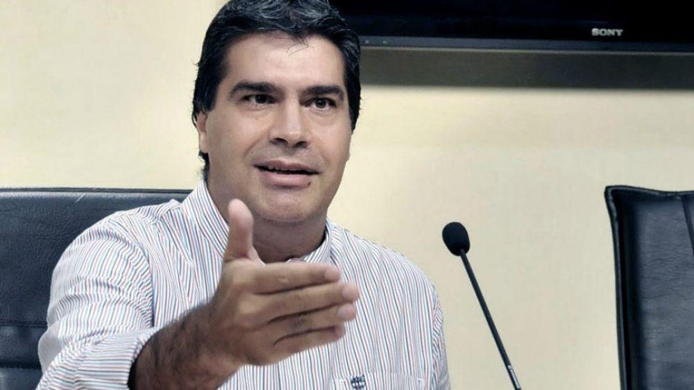 foto: Capitanich quiere encabezar el PJ si logra apoyo del partido