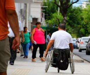 foto: Culminó la primera etapa del Plan de Veredas Inclusivas en la Ciudad