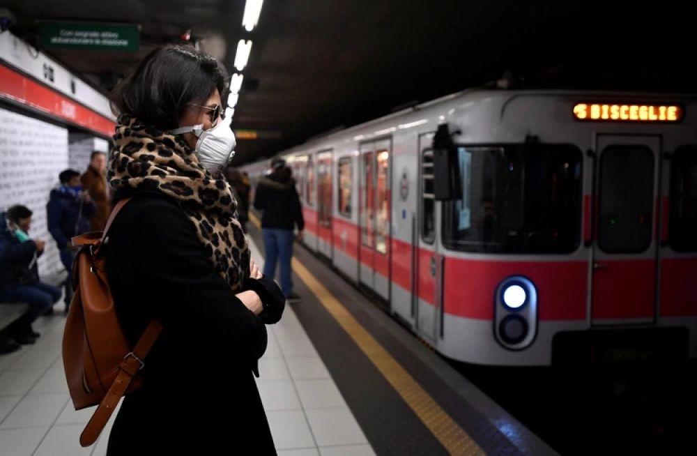 foto: Italia confirmó la cuarta víctima mortal del coronavirus