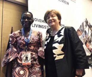 foto: Antoinette Sayeh, asumirá como subdirectora del FMI