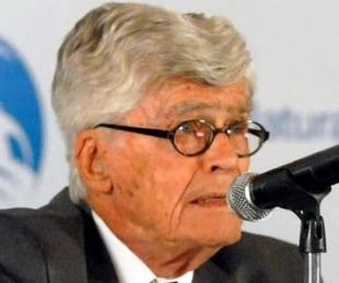 foto: Murió el científico argentino Mario Bunge