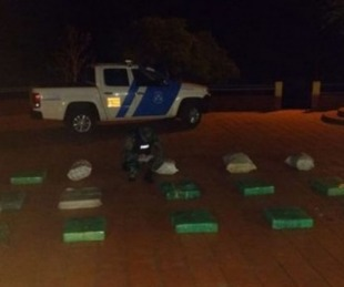 foto: Tras persecución, secuestraron un auto con cargamento de marihuana