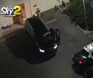 foto: Robaron un coche fúnebre con el cuerpo de una mujer adentro