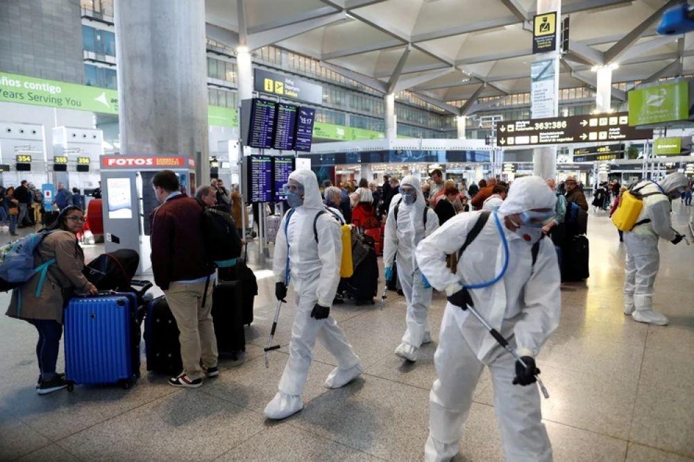 España anunció el cierre de fronteras desde la medianoche
