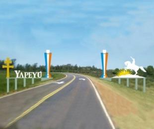 foto: Yapeyú permite ingreso de camiones con estrictos controles