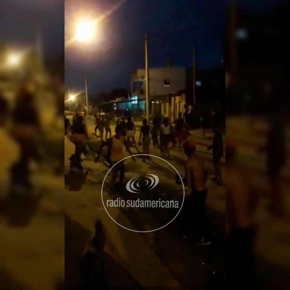 foto: Enfrentamiento entre familias, terminó en una batalla campal