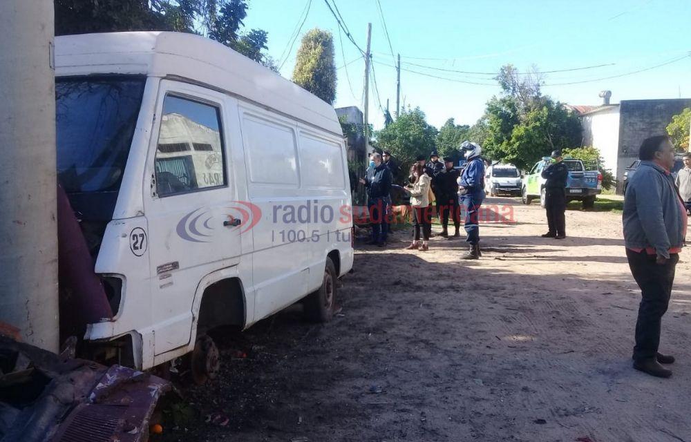 foto: Atacó a piedrazos a municipales cuando realizaban descacharrado