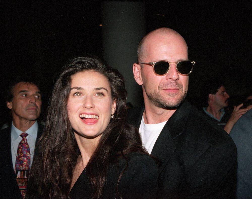 foto: Demi Moore y Bruce Willis pasan la cuarentena juntos