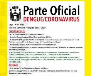 foto: Hasta el momento Goya no registra casos confirmados de corornavirus