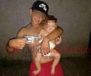 foto: Conocido delincuente menor de edad fue detenido por robo