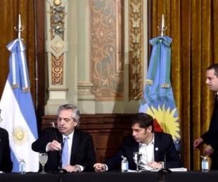 foto: El presidente Alberto Fernández presentó la Cuenta DNI