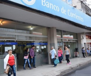 foto: El lunes el Banco de Corrientes atenderá pero con turnos previos