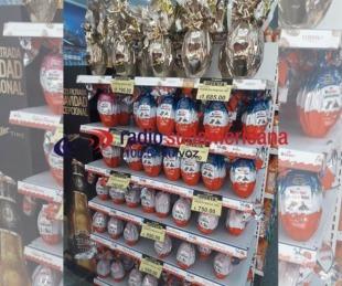 foto: Comprar huevos de pascuas, un privilegio para algunos pocos