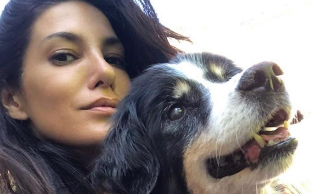 foto: Escudero por la muerte de su perra: Te estamos despidiendo con mucha tristeza