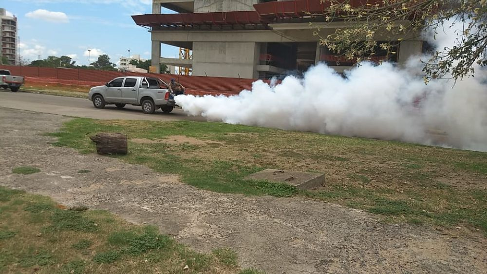 foto: La Municipalidad profundiza las tareas de fumigación en la ciudad