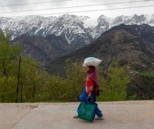 foto: Se pudo ver el Himalaya por primera vez desde la Segunda Guerra Mundia