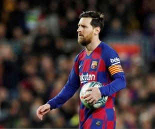 foto: La explosión de rabia de Lionel Messi en las redes sociales