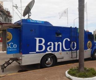 foto: El viernes, el BanCo Móvil estará en el barrio San Marcos