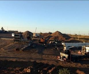 foto: Comenzaron los trabajos preliminares de repavimentación de la ruta 126