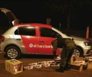 foto: Trabajador de prensa involucrado en secuestro ilegal de cigarrillos