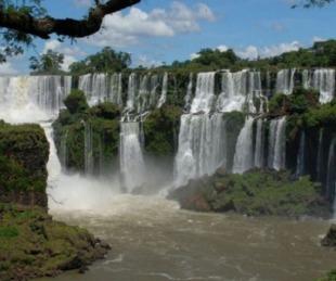 foto: Luego de la sequía histórica, las cataratas recuperan su caudal