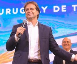 foto: Uruguay: el presidente Lacalle Pou en cuarentena