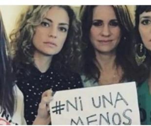 foto: A cinco años de Ni una menos, los mensajes de las actrices en las redes